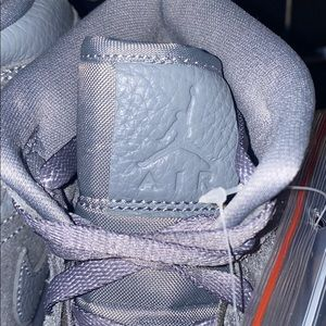 Jordan Shoes - Jordan 1 Mid Cool Grey Purple